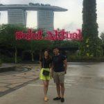 Terima Hadiah Bupati, Julio Pangemanan-Maria Kalengkongan Terbang ke Singapura