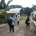 Lahan SMKN 1 Airmadidi, Diduga Sengaja Dibuat Jalan Masuk Rumah Pribadi Kepsek