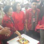Kantor DPD PDI Sulut Diresmikan Megawati Soekarno Putri