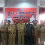 Kunker ke Kabupaten Sangihe, Wagub Ingatkan Penggunaan Dana ADD