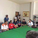 Puluhan Pedagang Penyandang Disabilitas Tunanetra Datangi Dekot Manado