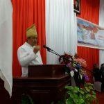 Kandouw Hadiri Rapat Paripurna Istimewa DPRD Sangihe