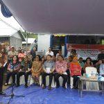 Tinjau Pembangunan Rumah Korban Banjir Manado, Mensos Berikan Bantuan