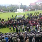Tuntut Pembubaran FPI, Ormas Gabungan di Sulut Gelar Unjuk Rasa Damai