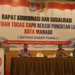 Buka Rakor Saber Pungli, Walikota GSVL Ingatkan Jauhi Korupsi