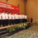 Hadiri Pelantikan Pengurus PELTI Sulut, Walikota Vicky Dukung Kandouw