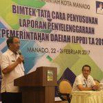 Buka Bimtek LPPD Kota Manado, Usulu Ingatkan Profesionalisme Kerja ASN