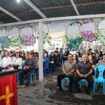 Walikota Vicky Hadiri Ibadah Pelepasan Almarhum Arie Freddy Mottoh