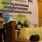 Wakili Walikota Manado, Asisten III Tutup Bimtek LPPD