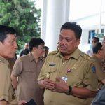 Hadiri Kunker Komisi II DPR-RI, Walikota Vicky Beri Apresiasi