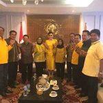 Temui Novanto, 10 DPD II Nyatakan Dukung Tetty Ketua PG Sulut