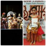 Juarai Pesona Putra Putri Batik Daerah, Glory Harumkan Nama Sulut