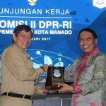 Komisi II DPR-RI Terkesan Dengan C3
