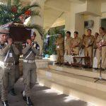 Sekkot Pimpin Upacara Pelepasan Jenazah di Kantor Walikota
