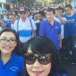 DPD Partai Demokrat Sulut Gelar Jalan Sehat