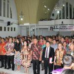Panitia Perayaan Paskah Nasional XIII dan Pekan Kerukunan Nasional tahun 2017 Dilantik