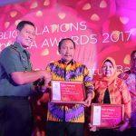 Jalin Hubungan Baik Dengan Media Massa, Pemkot Manado Raih Penghargaan