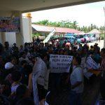 Dukung PT. Malisya Sejahtera Beroperasi, Warga Tiberias Poigar Demo Ke Pemkab Bolmong