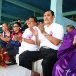 Dihadiri Menko Kemaritiman, POR P/KB GMIM 2017 Dibuka Gubernur Sulut