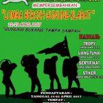 Peringati HUT Ke-17, KMPA Tunas Hijau Arimadidi Gelar Lomba Bersih Gunung