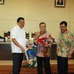 Kunjungan BURT DPR RI Disambut Gubernur