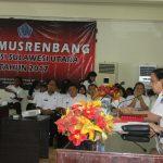 Pra Musrembang RKPD Sulut Tahun 2018.