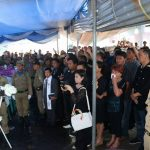 Walikota GSVL Hadiri Ibadah Pemakaman Walpri Melky