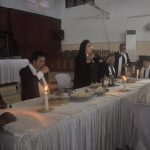 Hadiri Ibadah Jumat Agung, Penatua Kandouw Layani Jemaat