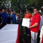Pererat Persatuan, Walikota GSVL Pimpin Apel Deklarasi Solidaritas NKRI