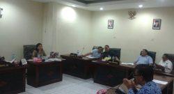 Hearing Komisi C DPRD Manado dengan Dinas PUPR.