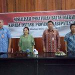 Sosialisasi Batas Wilayah Daerah Dilaksanakan di Minut