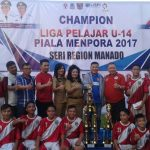 Taklukan Karame FC, PS Manado Juarai Liga Pelajar U-14 Piala Menpora 2017