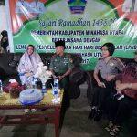 Gelar Safari Ramadhan, Pemkab Minut Beri Bantuan