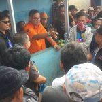 Dipimpin Dirum Hendra, Penertiban Pedagang Pasar Bersehati Berjalan Lancar