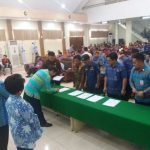 Disaksikan Walikota GSVL, seluruh OPD  tandatangani Pakta Integritas anti korupsi