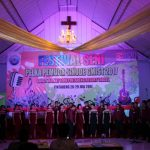 Ketua Panpel Festival Seni Pemuda GMIST 'User Wartawan'