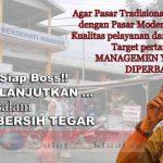 Walikota GSVL: Pasar Tradisonal Vs Modern, Pertama Perbaiki Manajemen PD Pasar