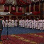 Walikota GSVL Kukuhkan 50 Anggota Paskibraka Manado
