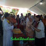 Bupati VAP Hadiri Syukuran 50 Tahun Imamat Pastor Marecellus