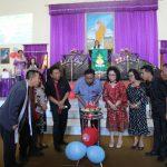 HUT Ke -134 Jemaat Bukit Sion Atep dihadiri Gubernur