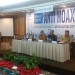 Diskominfo Manado Gagas Workshop dan Deklarasi Manado Cerdas Anti Hoax