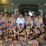Wakili Gubernur Sulut, Kawatu Lepas Utusan Kwarda Pramuka ke Raimuna