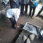 Wabup Hontong Letakan Batu Pertama RTLH Di Mangsel