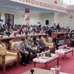Sidang Paripurna Istimewa DPRD Bolmong