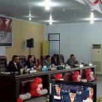 Bupati VAP Hadiri Sidang Istimewa DPRD Minut
