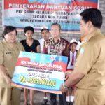 Dinsos Launching PKH Di Kampung Binala