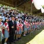 Paduan Suara SMK Negeri 1 Manado Meriahkan HUT RI di Lapangan Koni