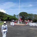 Deputi PBN BNNP Upacara di Sangihe