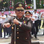 Personil Polres Minut Ramaikan HUT RI Dengan 'Goyang Maumere'
