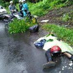 Julian Tewas Ditempat, Honda Revo Vs Dump Truck